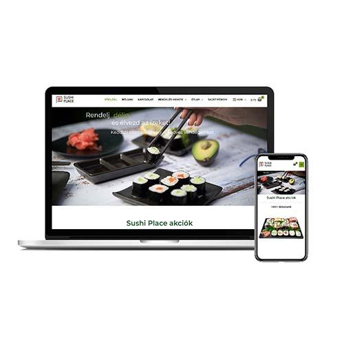 Sushi Place referencia mobil kép