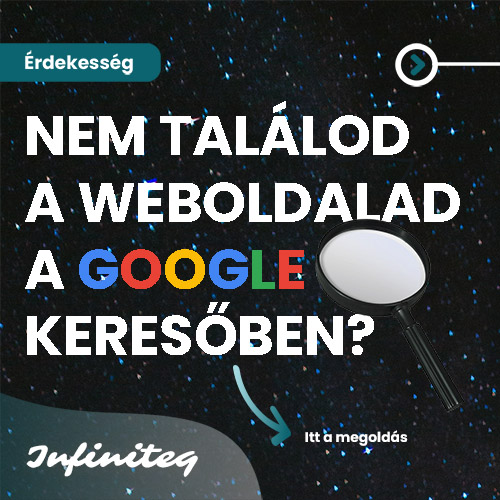 Nem találod a weboldalad a Google keresőben?