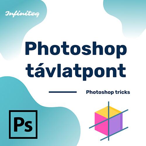 Photoshop távlatpont mobil