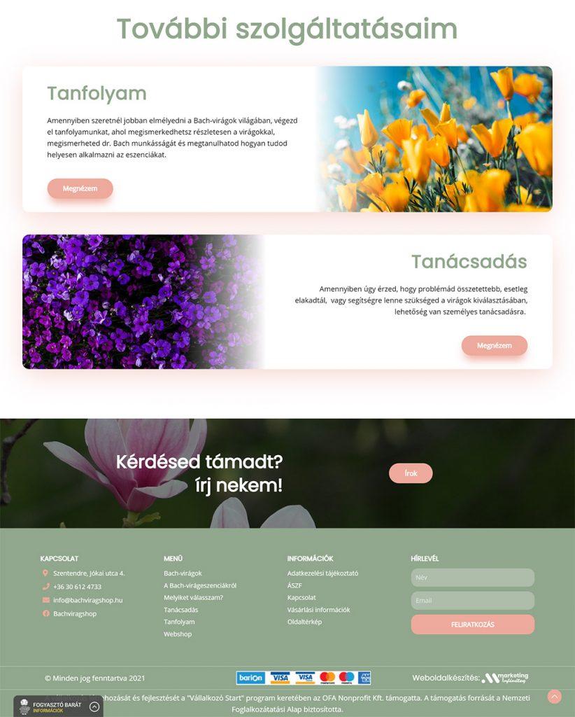 bachviragshop.hu weblap